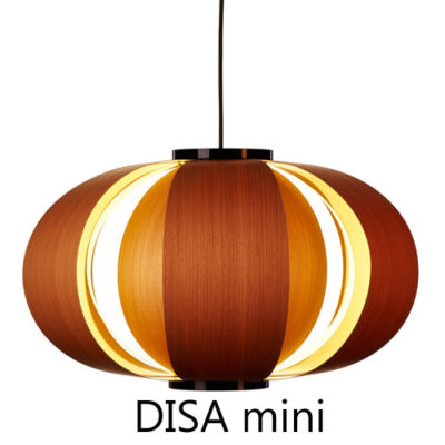 TUNDS-DISA-mini pendant version in wood