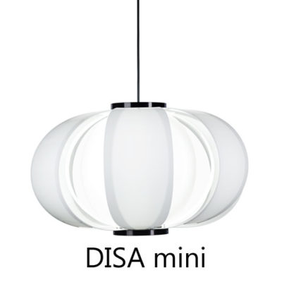 TUNDS-DISA-mini pendant version in methacrylate